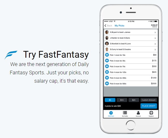Fastfantasy.com App